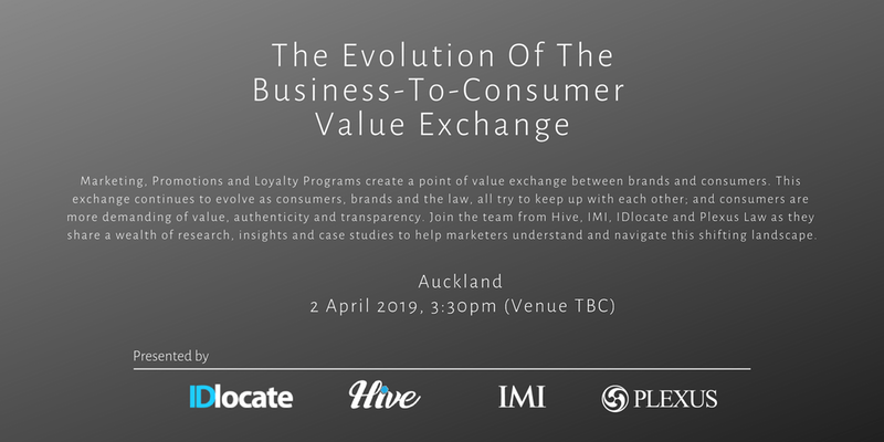 IDlocate @ The Evolution Of The Business-To-Consumer Value Exchange
